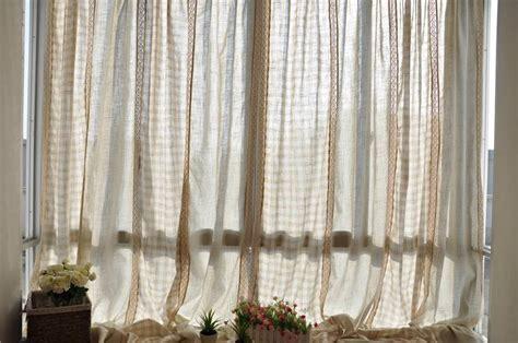 country style cotton linen patchwork cotton crochet