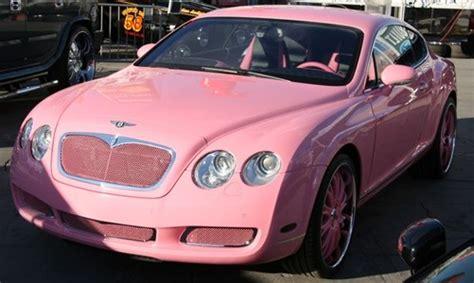 Paris Hilton Pink Bentley Continental Gt Pictures