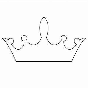 free princess crown template clipart best With free printable tiara template