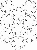 Paper Flowers Hawaiian Flower Lei Template Templates Coloring Pages Hibiscus Printable Pattern Cut Hawaii Petal Detail Patterns Luau Ray Yahoo sketch template