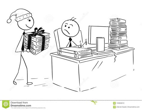 man working  computer  work  christmas gift stock