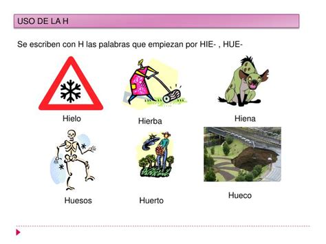 ORTOGRAFÍA USO DE LA H PowerPoint Presentation ID