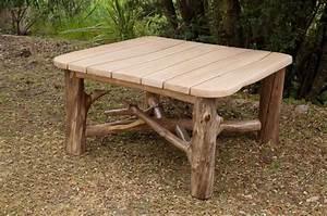 Meuble En Bois Flotté : table bois flott fashion designs ~ Preciouscoupons.com Idées de Décoration