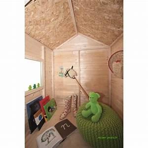 Maisonnette en bois pour enfants, Kangourou, chalet, pas cher