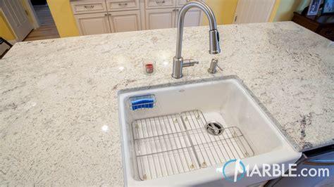 bianco romano granite kitchen countertops