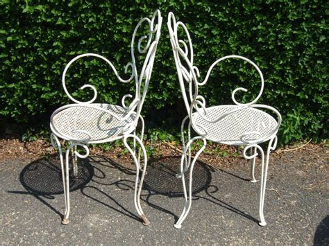 vintage wrought iron patio furniture best vintage patio chair and antique wrought iron patio
