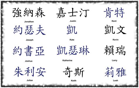 Asian Kanji