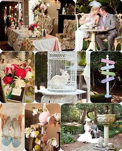 Top 3 Alice in Wonderland Wedding Ideas Tulle