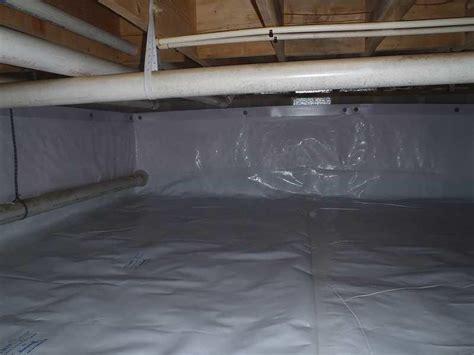 crawl space repair crawlspace insulation  vapor