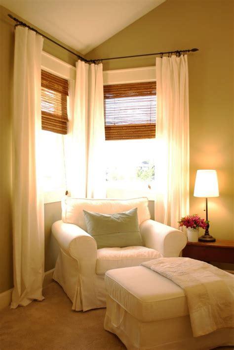 17 best ideas about corner curtains on corner