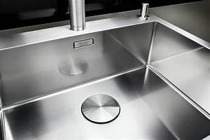 Evier Inox Grande Cuve : evier grande cuve inox 1 bac a fleur de plan blanco ~ Premium-room.com Idées de Décoration