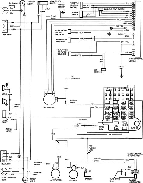 Chevy Truck Wiring Diagram Other Lights