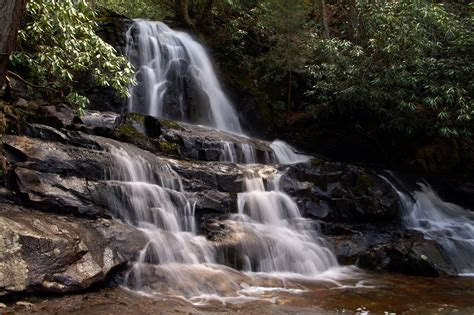 Waterfalls In The Great Smoky Mountains