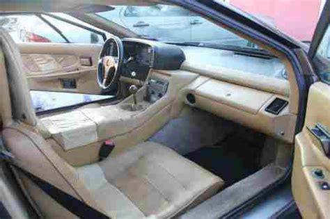 how cars run 1988 lotus esprit engine control find used 1988 lotus esprit turbo black in mamaroneck new york united states for us 16 900 00
