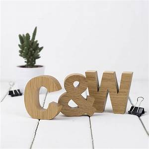 wooden letters small oak initials set by letters etc With oak wooden letters