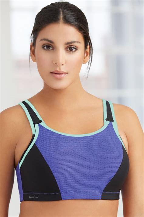 glamorise adjustable support wire sport bra  bras