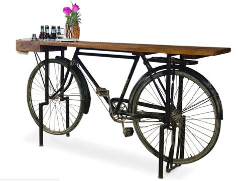 Kitchen Shelving Ideas - bicycle sideboard
