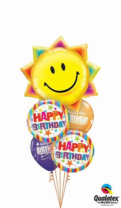 Birthday Happy Balloon Balloons Tree Party London