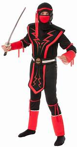 Kids Red/Black Skull Ninja Costume | Halloween 2015 ...