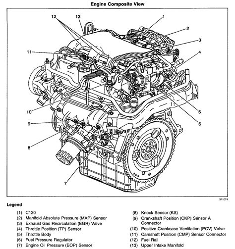 Alero Engine Diagram by Working On A 2001 Alero 3 4l Check Engine Light Is On I