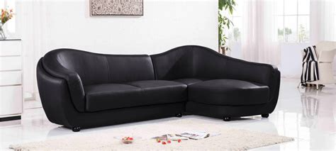 canapé en cuir canapé d 39 angle 4 places a prix cassé en cuir