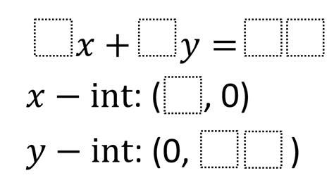 rewriting equations in slope intercept form worksheets