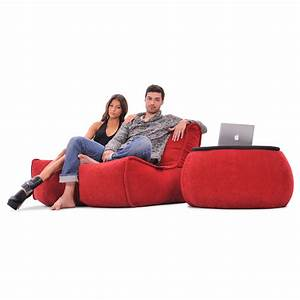 2, Seater, Red, Sofa