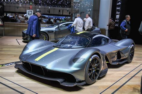 aston martin hypercar named valkyrie presented  geneva