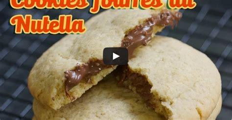 comment réaliser de délicieux cookies au nutella façon