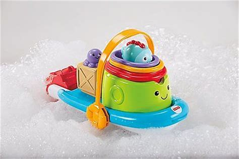 Fisher Price Bath Toy Boat by Fisher Price Stackin Tubtime Boat Bath Toy