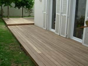 Lame De Bois Pour Terrasse : planche resine terrasse maison design ~ Melissatoandfro.com Idées de Décoration