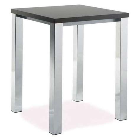 mange debout cuisine table de cuisine carrée mange debout en stratifié quadra 4 pieds tables chaises et tabourets
