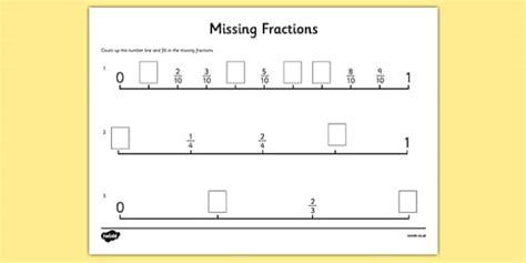 On A Number Line Third Grade Fractions Halves Worksheet