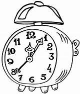 Clock Coloring Alarm Ura Clocks Printable Preschool Colouring Mantle Uhr Sheets Saat Ausmalbilder Kostenlos Zum Saatler Malvorlage Epic Coloringfolder Projection sketch template