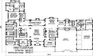 one story bungalow house plans big one story house floor plans floor plans for one
