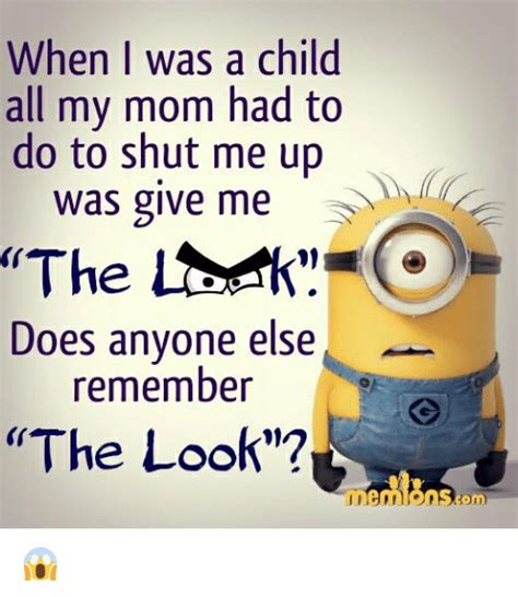 When I Was A Kid Meme - when i was a child all my mom had to do to shut me up was give me the does anyone else remember