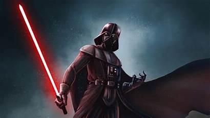 Darth Vader 4k Wars Star Background Lightsaber