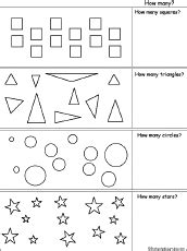 math worksheets shapes  enchantedlearningcom