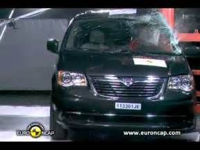 town and country test crash test 2011 lancia voyager chrysler town and country dodge caravan test