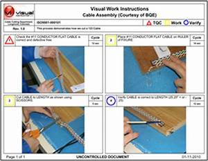 visual instructor With visual work instruction template