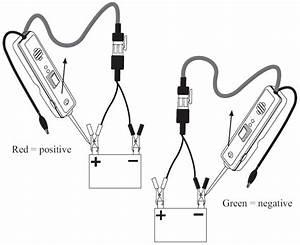amazoncom power probe ii red automotive With in situ battery test probe