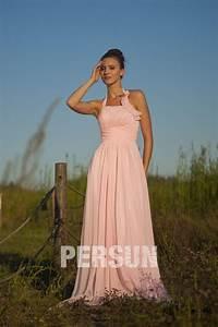 Robe Pour Temoin De Mariage : robe de soir e rose pour t moin de mariage avec bretelle ~ Melissatoandfro.com Idées de Décoration