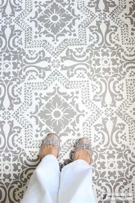 How to Stencil a Concrete Floor Like a Pro ? The Crowned Goat