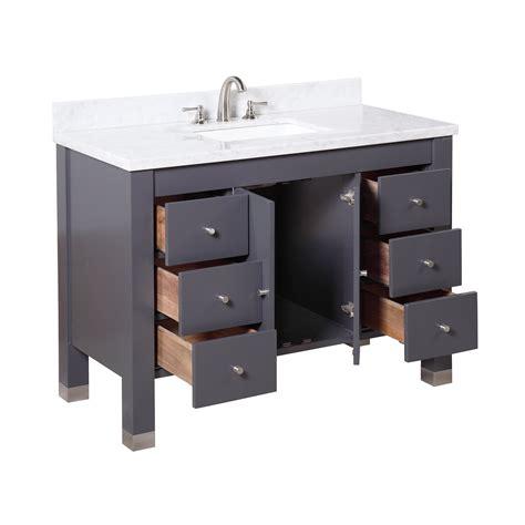 kbc riley  single bathroom vanity set wayfair