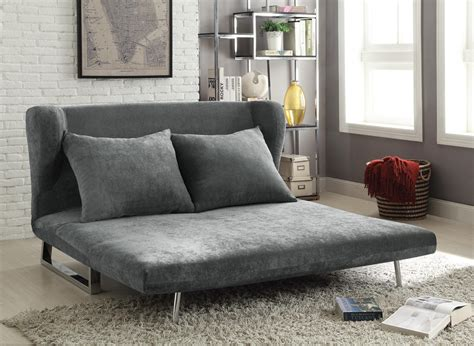 contemporary grey sofa bed converts  sofa  chaise lounge sofa  queen bed marjen