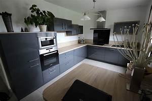 awesome quel couleur de cuisine avec un sol beige images With meuble de cuisine blanc quelle couleur pour les murs