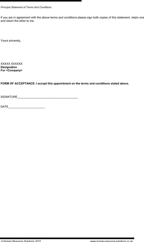 Download Sample Zero Hours Employment Contract Template for Free | Page 3 - FormTemplate