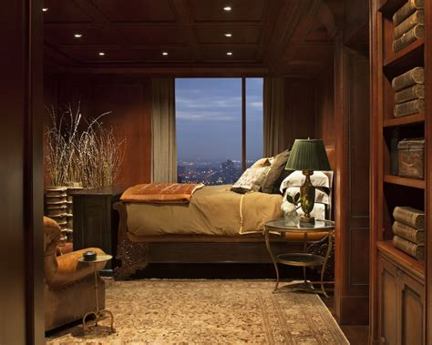 stylish  contemporary masculine bedroom ideas