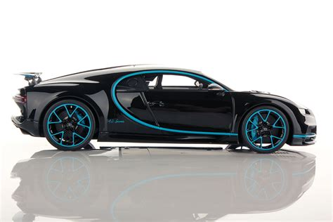 bugatti chiron 0 400 bugatti chiron zero 400 zero rear wing up 1 18