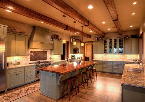 Hill Country Craftsman Kitchen